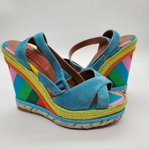 Valentino rainbow shoes